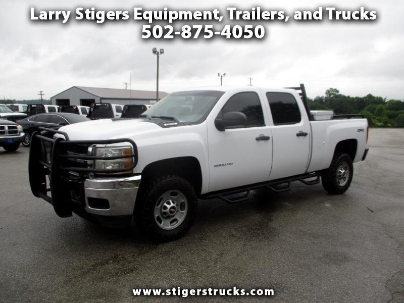 Chevrolet Silverado 2500HD LT Crew Cab Short Bed 4WD 2011