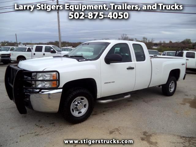Chevrolet Silverado 2500HD Work Truck Ext. Cab Long Bed 4WD 2010