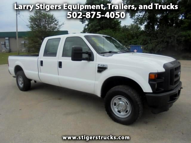 Ford F-250 SD XL Crew Cab Long Bed 4WD 2010