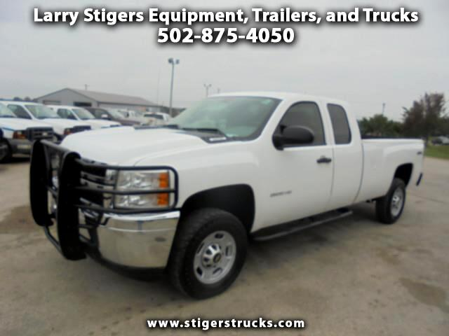 Chevrolet Silverado 2500HD Work Truck Ext. Cab Long Box 4WD 2011