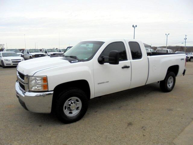 2010 Chevrolet Silverado 2500HD Work Truck Ext. Cab Long Box 4WD