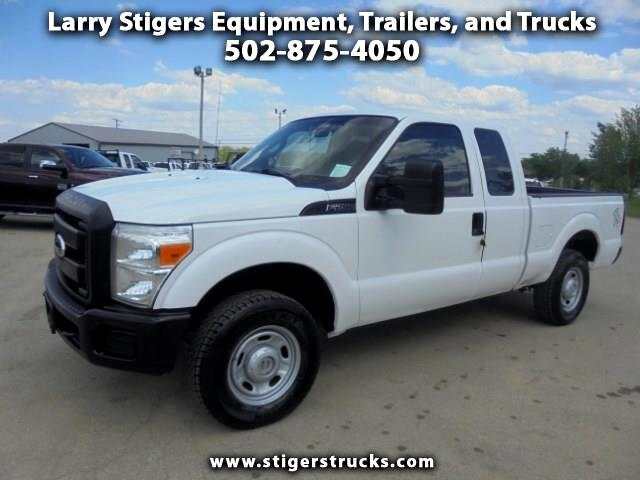 Ford F-250 SD XLT SuperCab Short Bed 4WD 2011