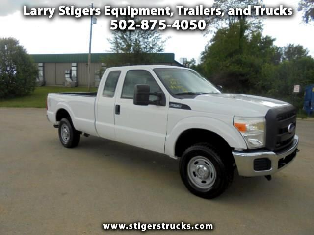 Ford F-250 SD XLT SuperCab Long Bed 4WD 2011