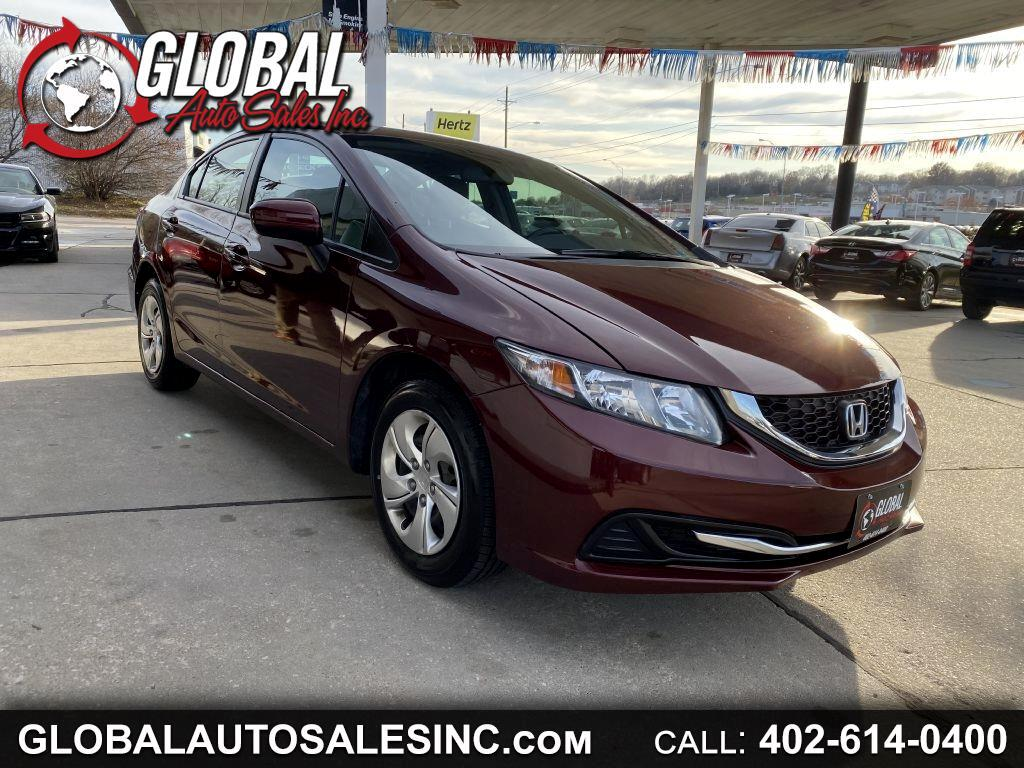 Honda Civic Sedan 4dr CVT LX 2015