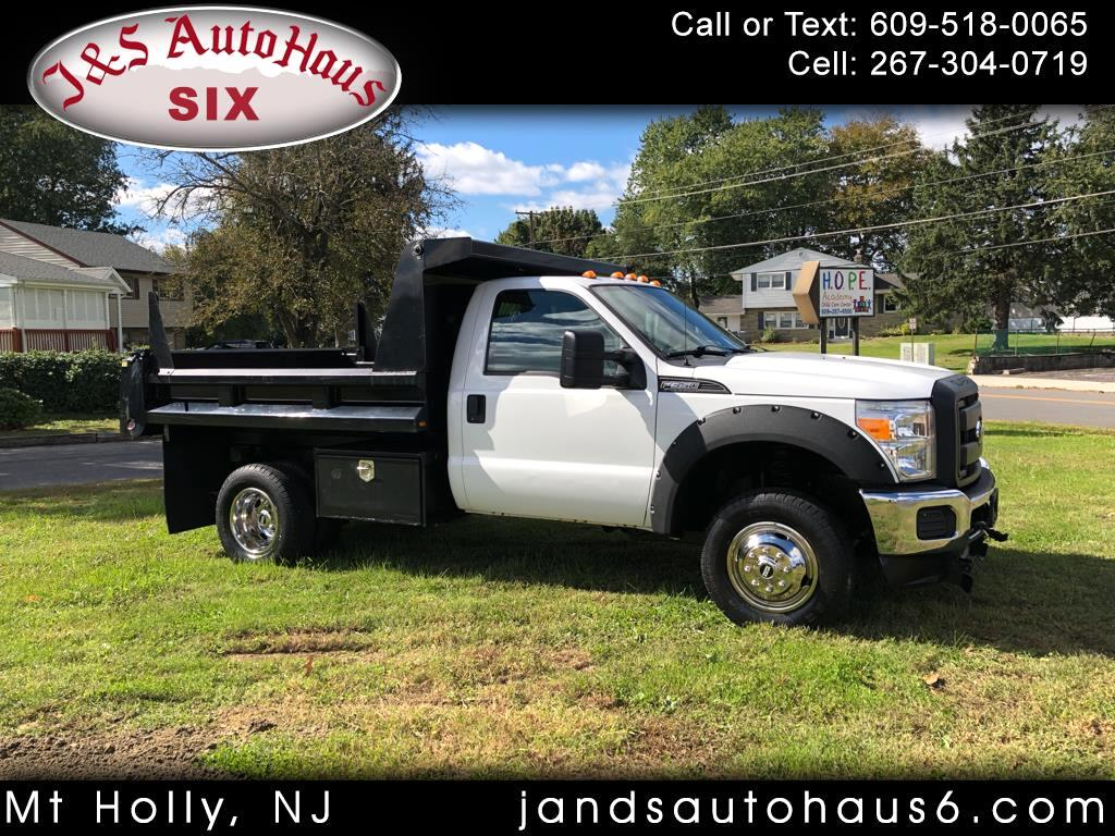 "2012 Ford Super Duty F-350 DRW 4WD Reg Cab 141"" WB 60"" CA XL"