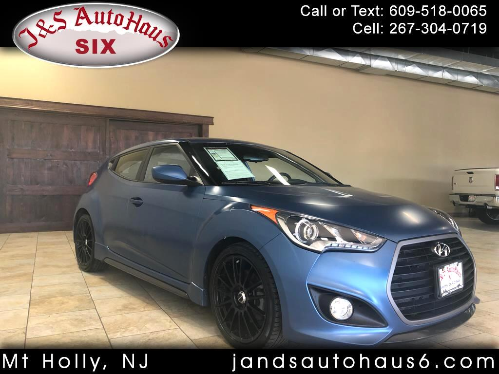 2016 Hyundai Veloster 3dr Cpe Man Turbo Rally Edition