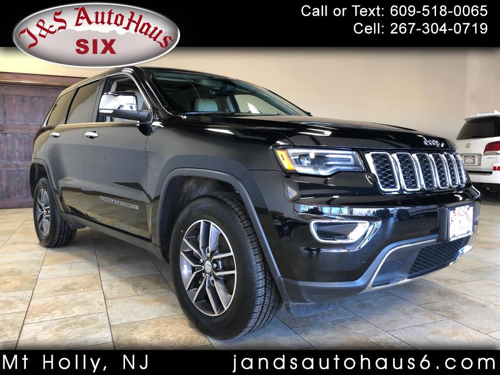 2017 Jeep Grand Cherokee 4dr Limited