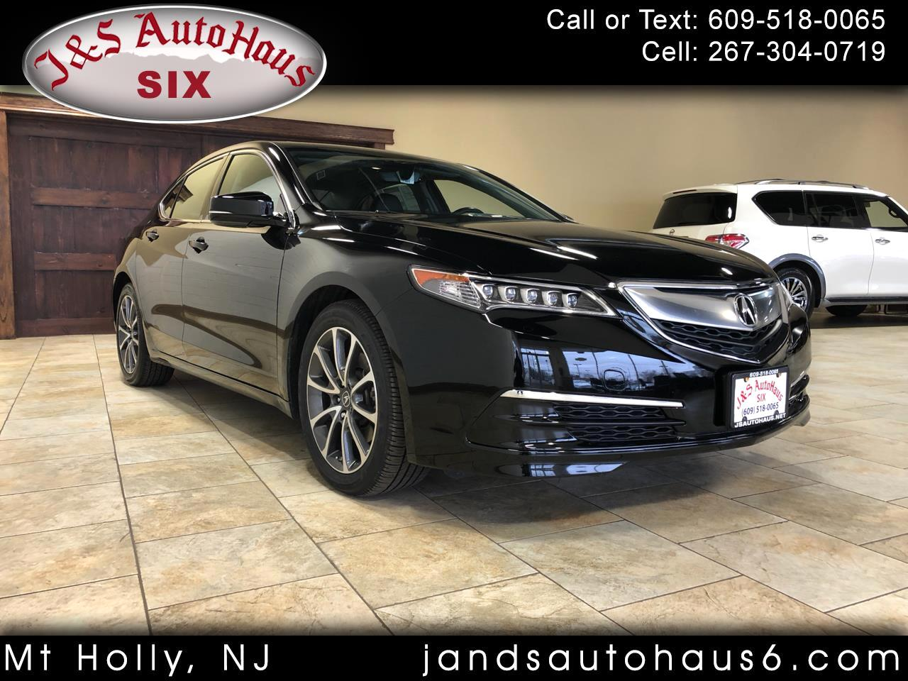 Acura TLX FWD V6 w/Technology Pkg 2017