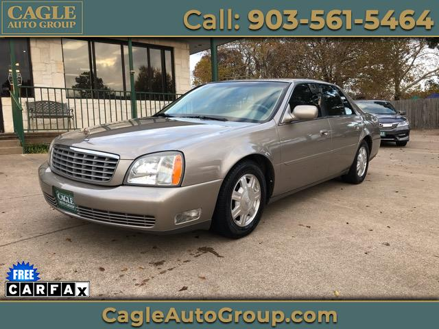 2004 Cadillac DeVille 4dr Sdn