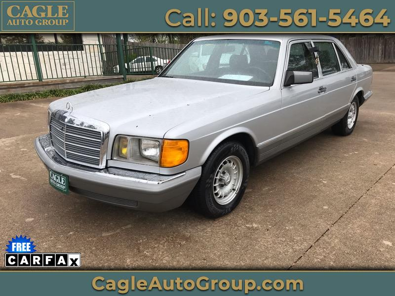 1985 Mercedes-Benz 500 Series 4dr Sedan 500SEL