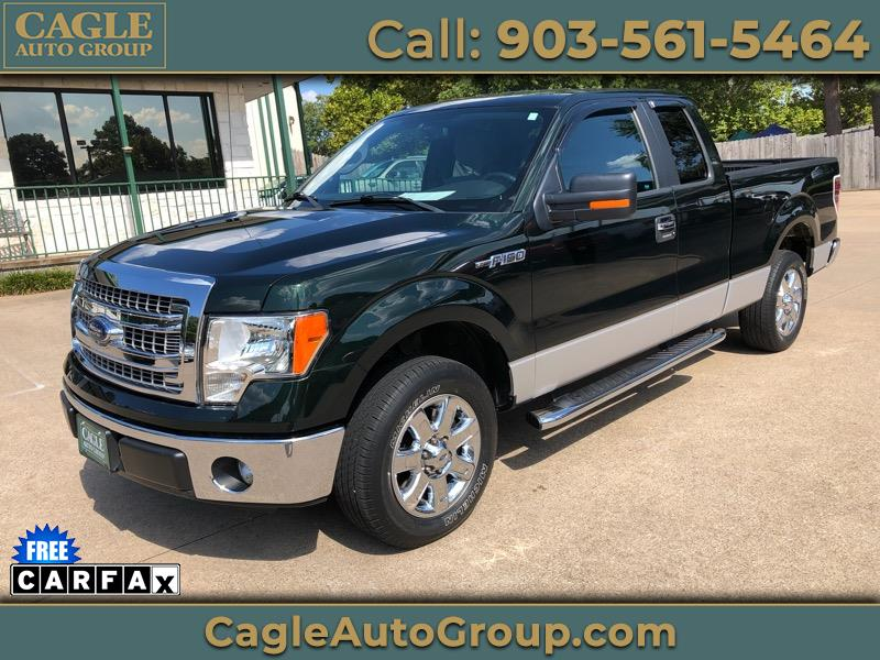 "Ford F-150 2WD SuperCab 145"" XLT 2013"