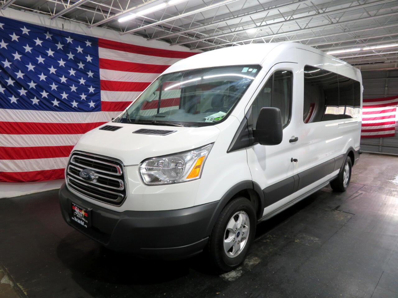 "2017 Ford Transit Wagon T-350 148"" Med Roof XLT Sliding RH Dr"