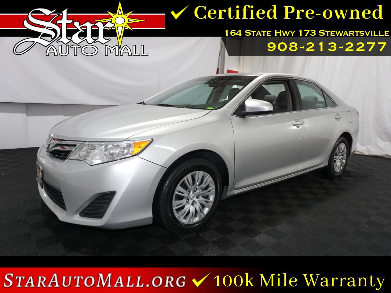 Toyota Camry LE 2013