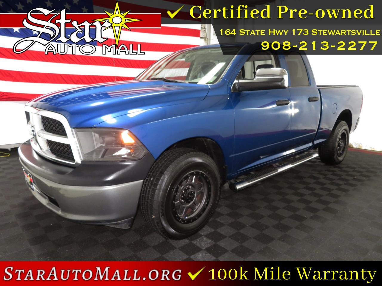 "RAM 1500 ST 4x4 Quad Cab 6'4"" Box *Ltd Avail* 2011"