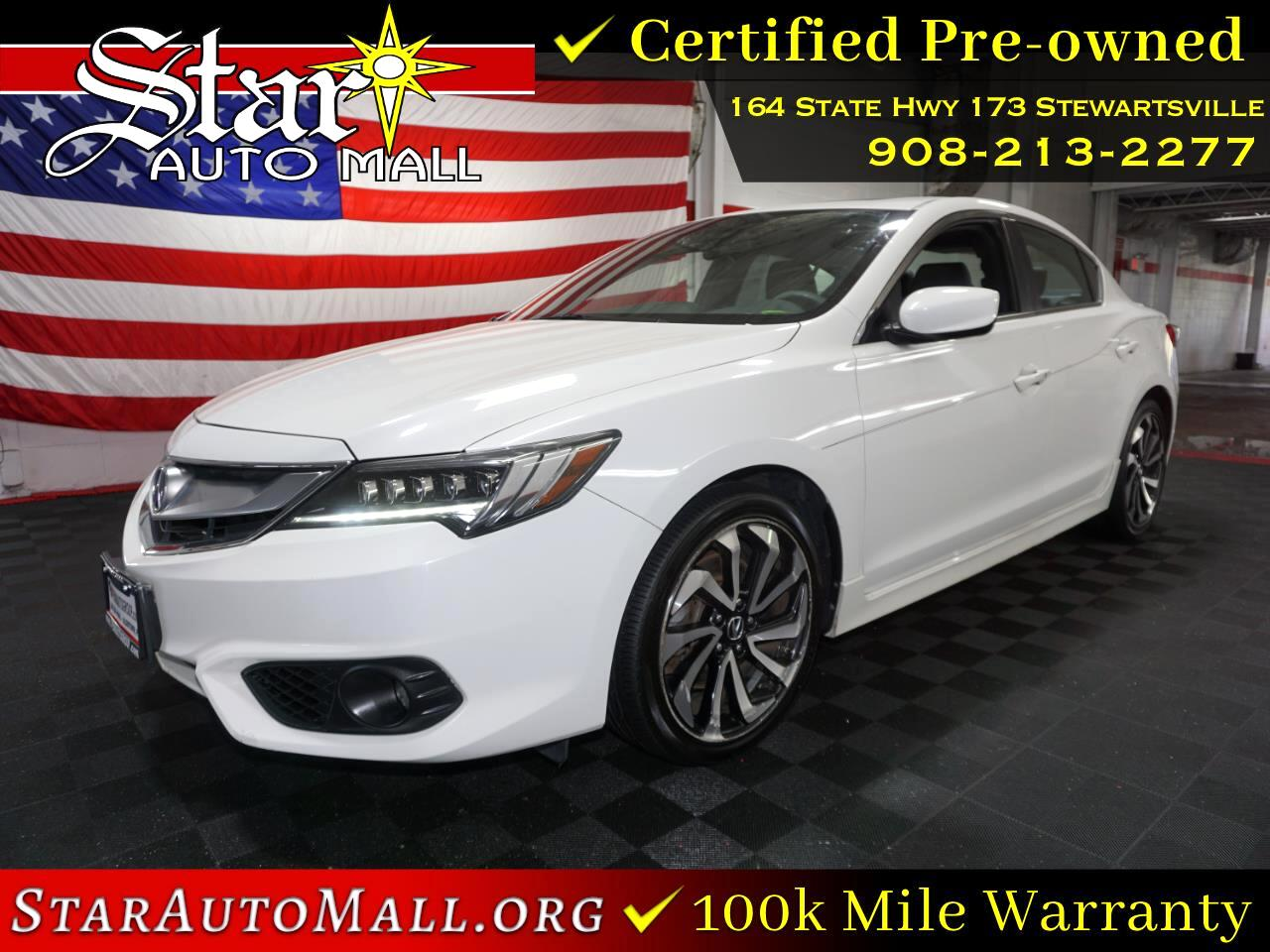Acura ILX 4dr Sdn w/Technology Plus/A-SPEC Pkg 2016