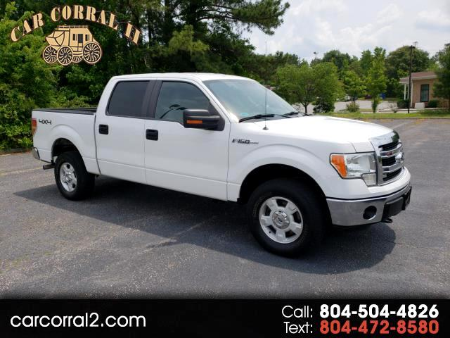 "2014 Ford F-150 4WD SuperCab 133"" XLT"