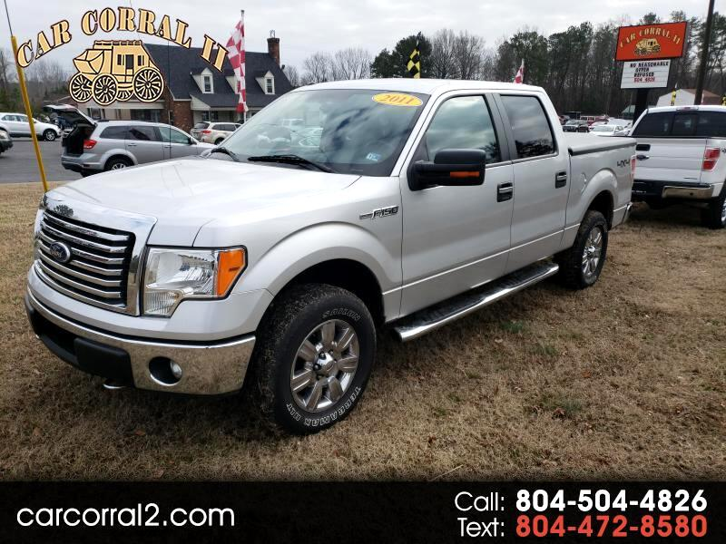 "2011 Ford F-150 SuperCrew Crew Cab 139"" XLT"