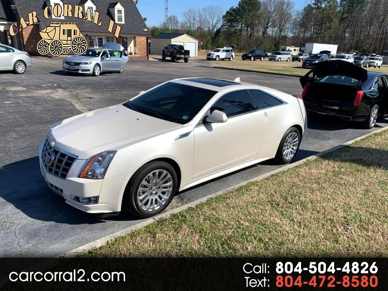 2012 Cadillac CTS Performance Coupe AWD
