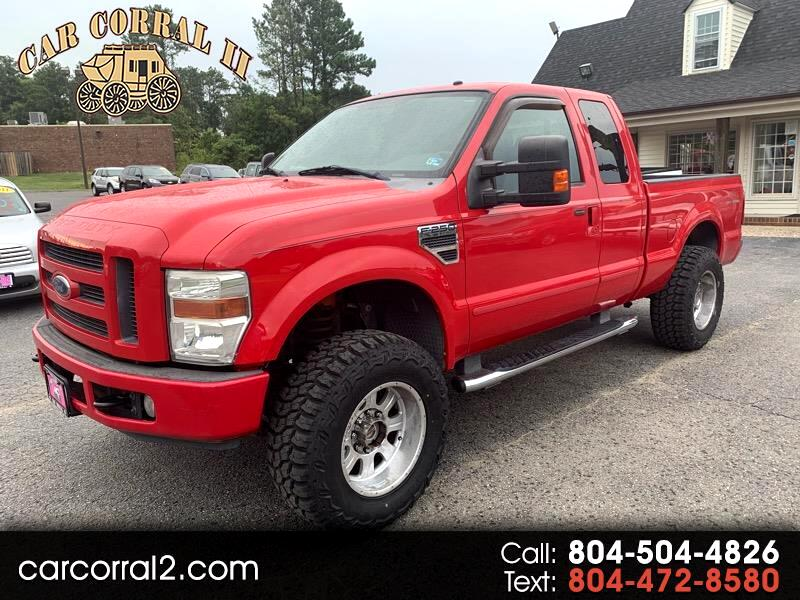 2008 Ford F-250 SD XLT SuperCab 4WD