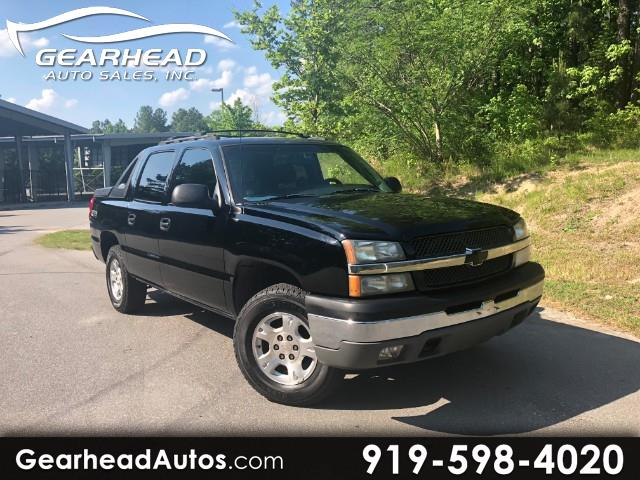 """2003 Chevrolet Avalanche 1500 5dr Crew Cab 130"""" WB 2WD Z66"""