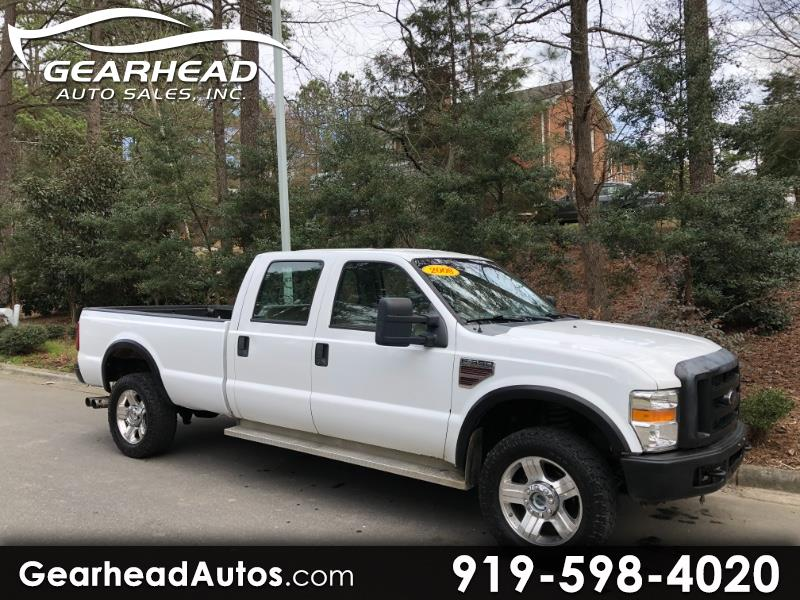 2008 Ford F-350 SD XL Crew SRW 4WD
