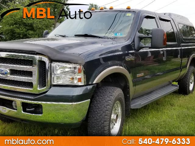 2006 Ford F-250 SD Lariat Crew Cab Short Bed 4WD