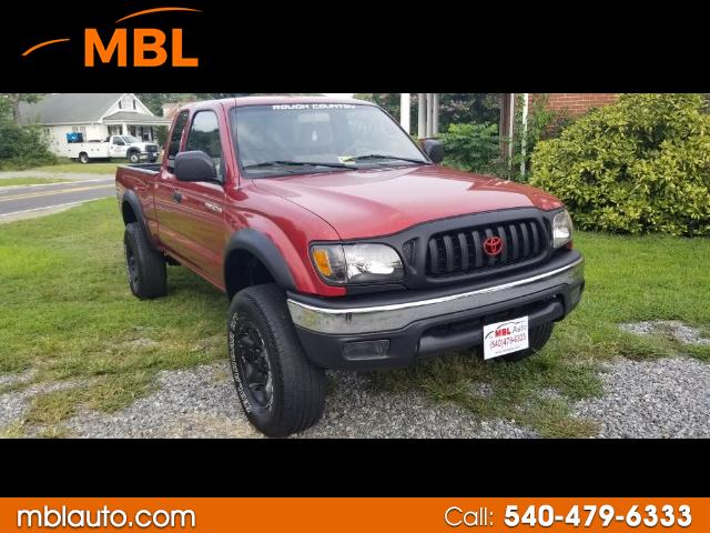 2003 Toyota Tacoma TRD Sport Double Cab 5' Bed V6 4x4 AT (Natl)