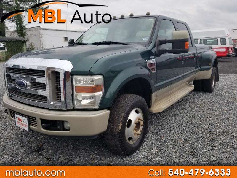 Ford F-350 SD King Ranch Crew Cab Long Bed DRW 4WD 2008
