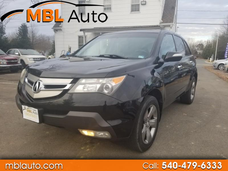 Acura MDX Sport Package and Entertainment Package 2009