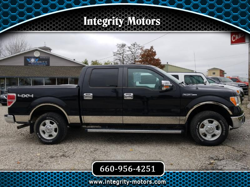 2012 Ford F-150 XL SuperCrew 5.5-ft. Bed 4WD