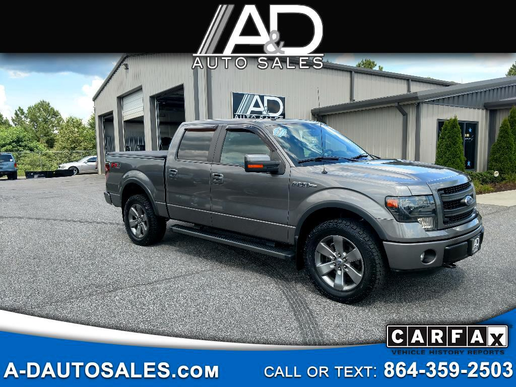 """2013 Ford F-150 SuperCrew 139"""" FX4 4WD"""