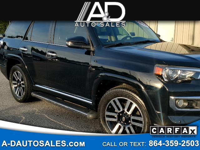2014 Toyota 4Runner 2WD 4dr V6 Limited (Natl)
