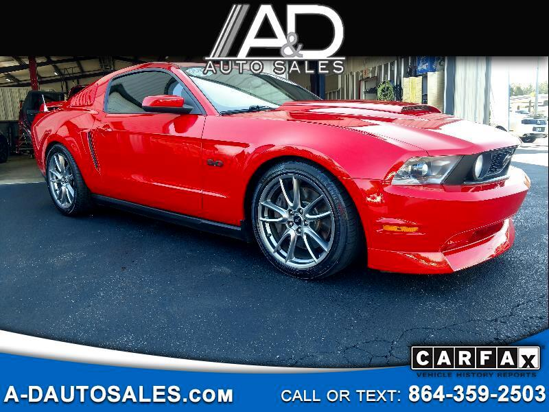 2011 Ford Mustang 2dr Coupe GT