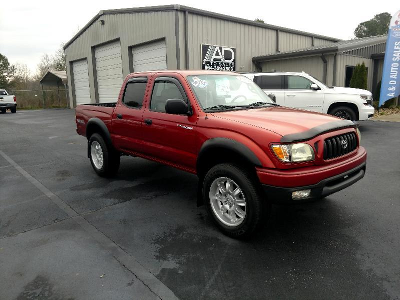 2003 Toyota Tacoma 4WD Double Cab LB V6 AT TRD Off Road (Natl)