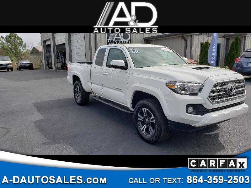 2017 Toyota Tacoma 2WD Access Cab V6 AT TRD Sport (Natl)