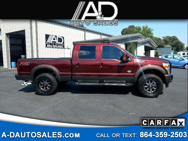"""2015 Ford F-250 SD 4WD Crew Cab 172"""" King Ranch"""
