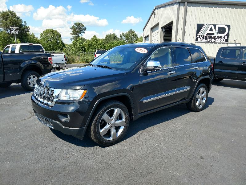 Jeep Grand Cherokee RWD 4dr Overland 2013