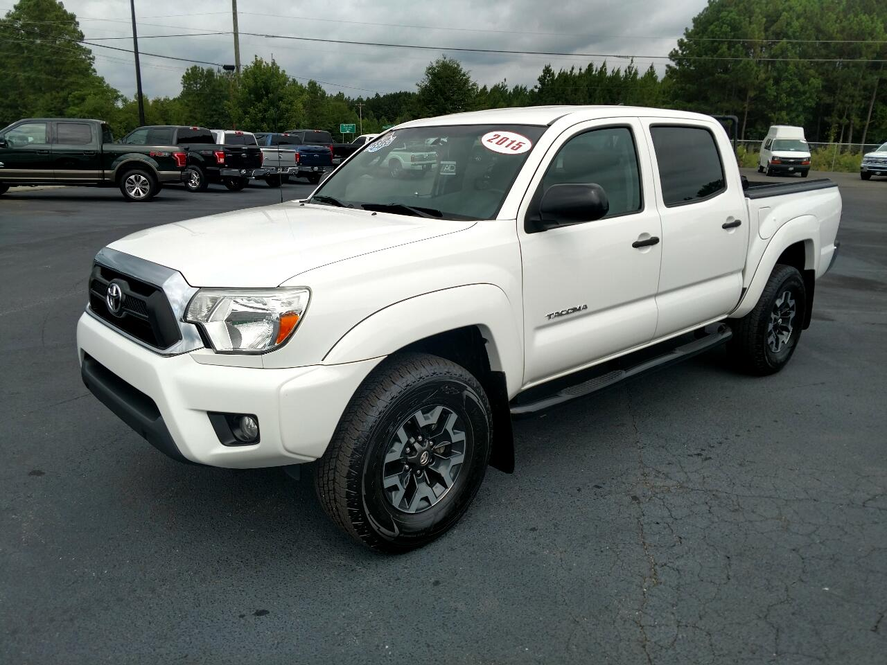 Toyota Tacoma 2WD Double Cab V6 AT PreRunner (Natl) 2015