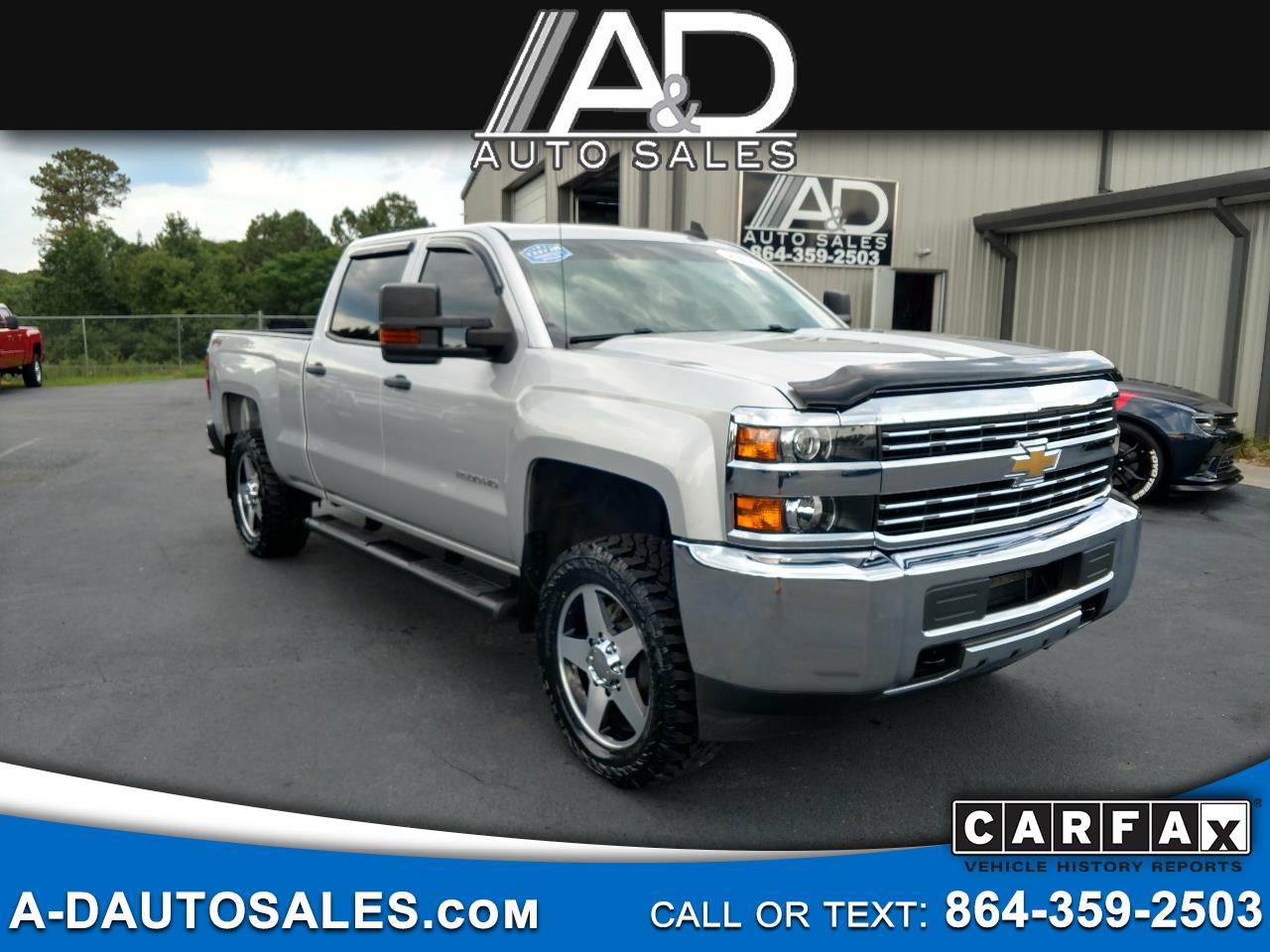 "2015 Chevrolet Silverado 2500HD Built After Aug 14 4WD Crew Cab 153.7"" Work Truck"
