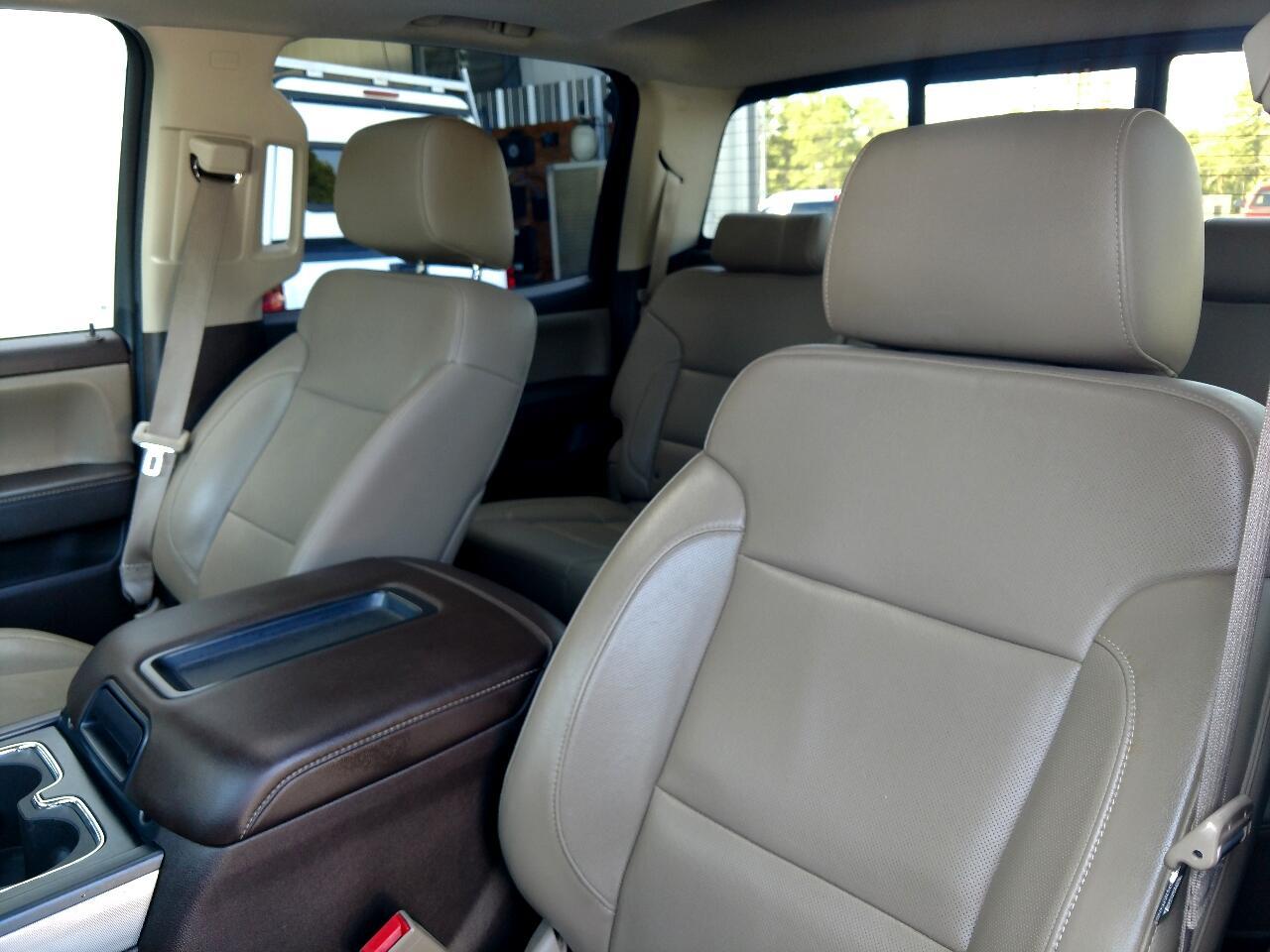 2015 Chevrolet Silverado 1500 4WD Crew Cab 143.5