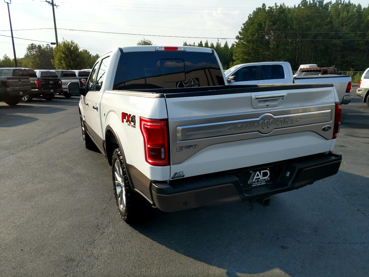 """Ford F-150 4WD SuperCrew 145"""" King Ranch 2016"""