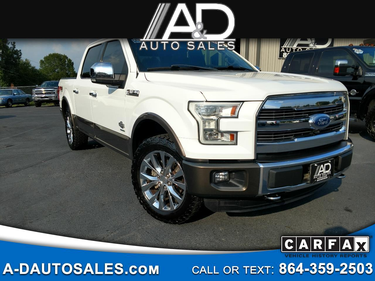 "Ford F-150 4WD SuperCrew 145"" King Ranch 2016"