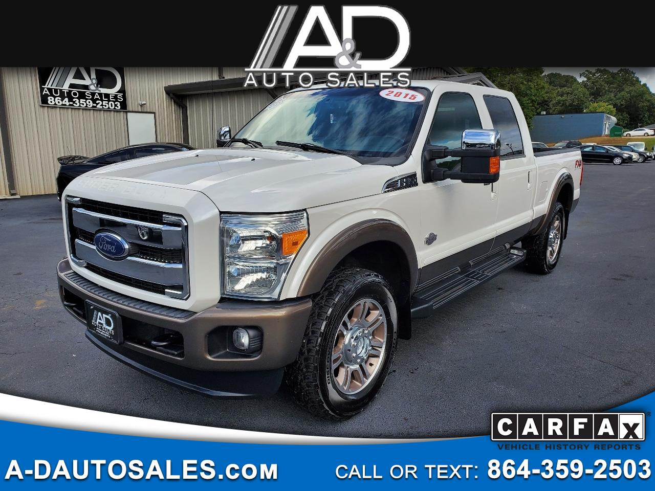 "Ford Super Duty F-250 SRW 4WD Crew Cab 172"" King Ranch 2015"