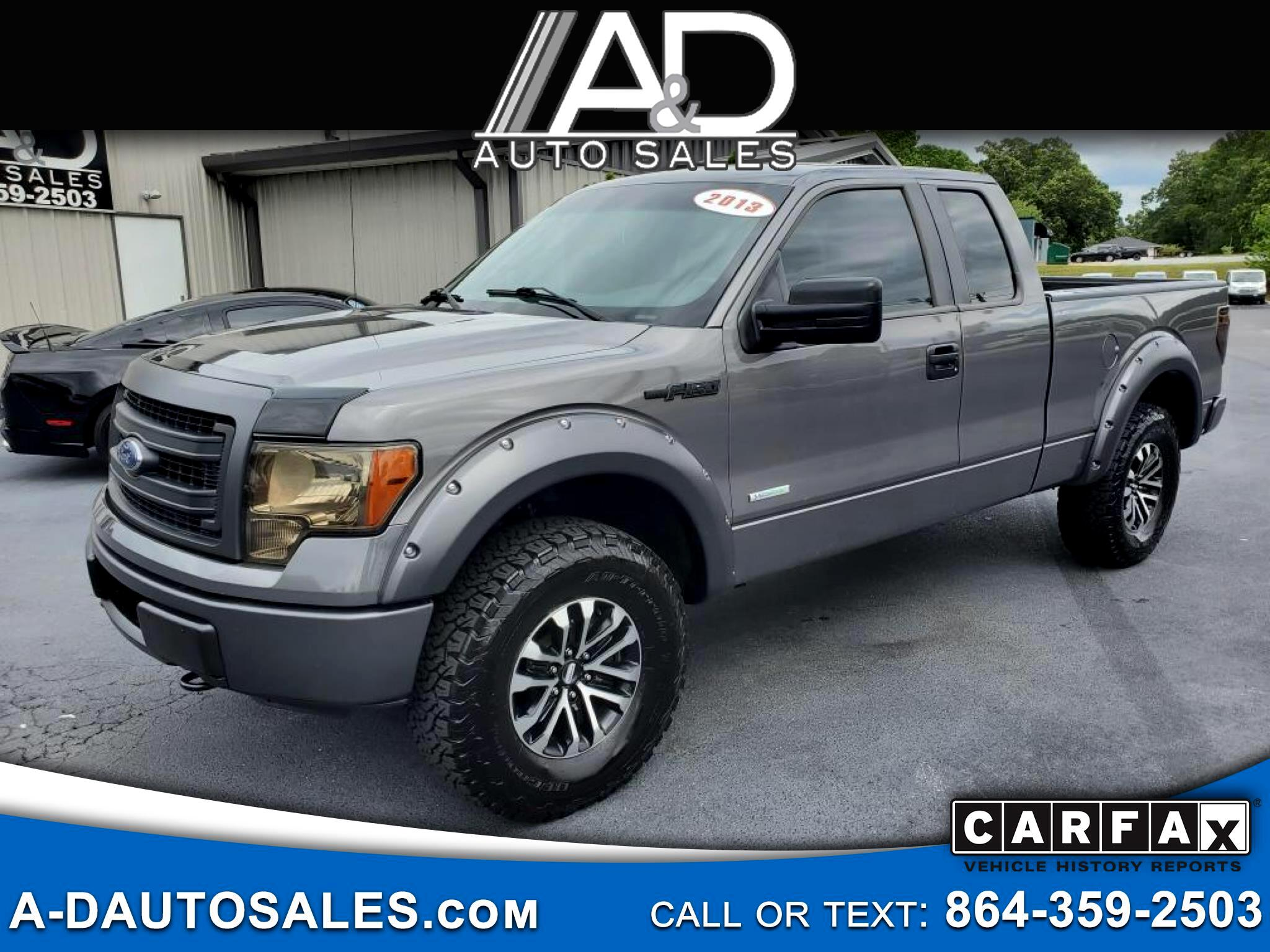 """Ford F-150 4WD SuperCab 133"""" FX4 2013"""