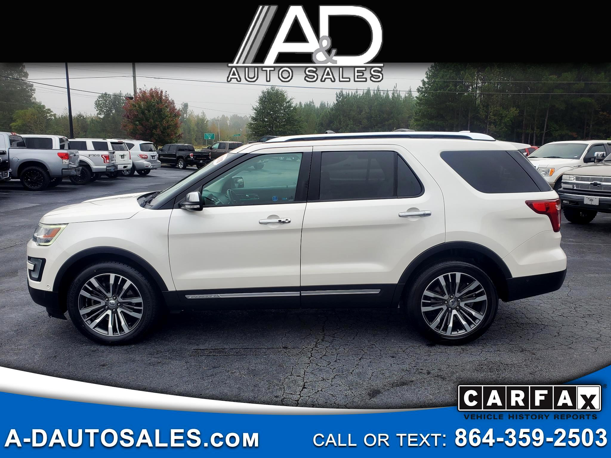 Ford Explorer 4WD 4dr Platinum 2016