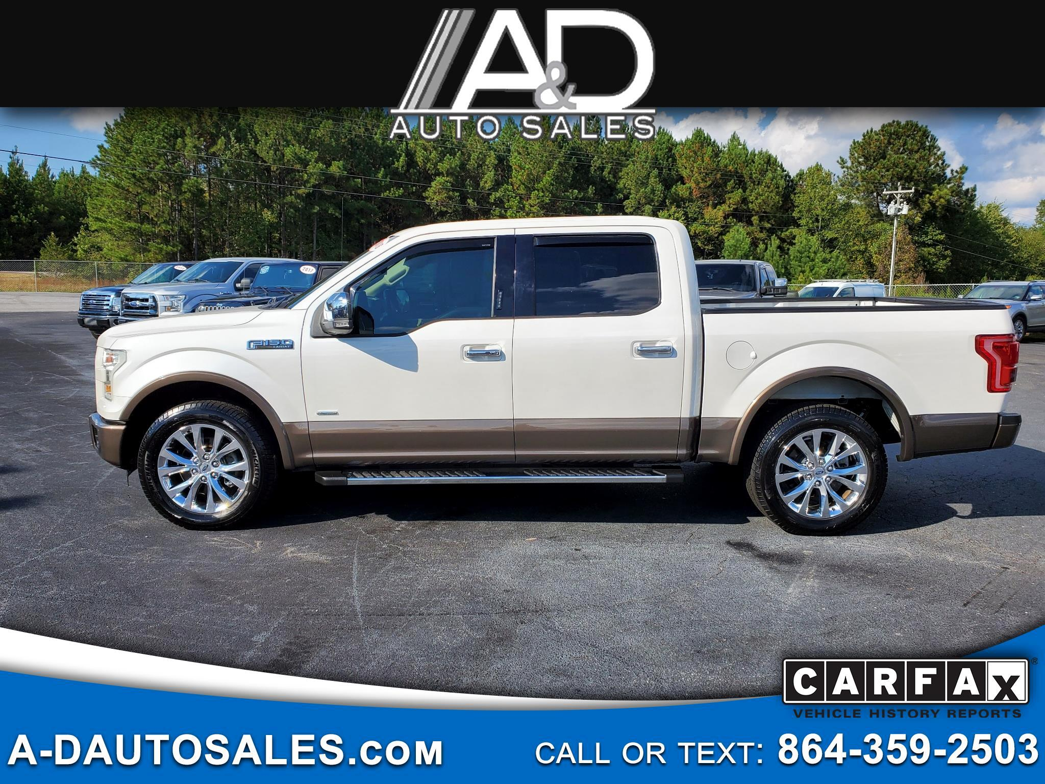 "Ford F-150 2WD SuperCrew 145"" Lariat 2016"