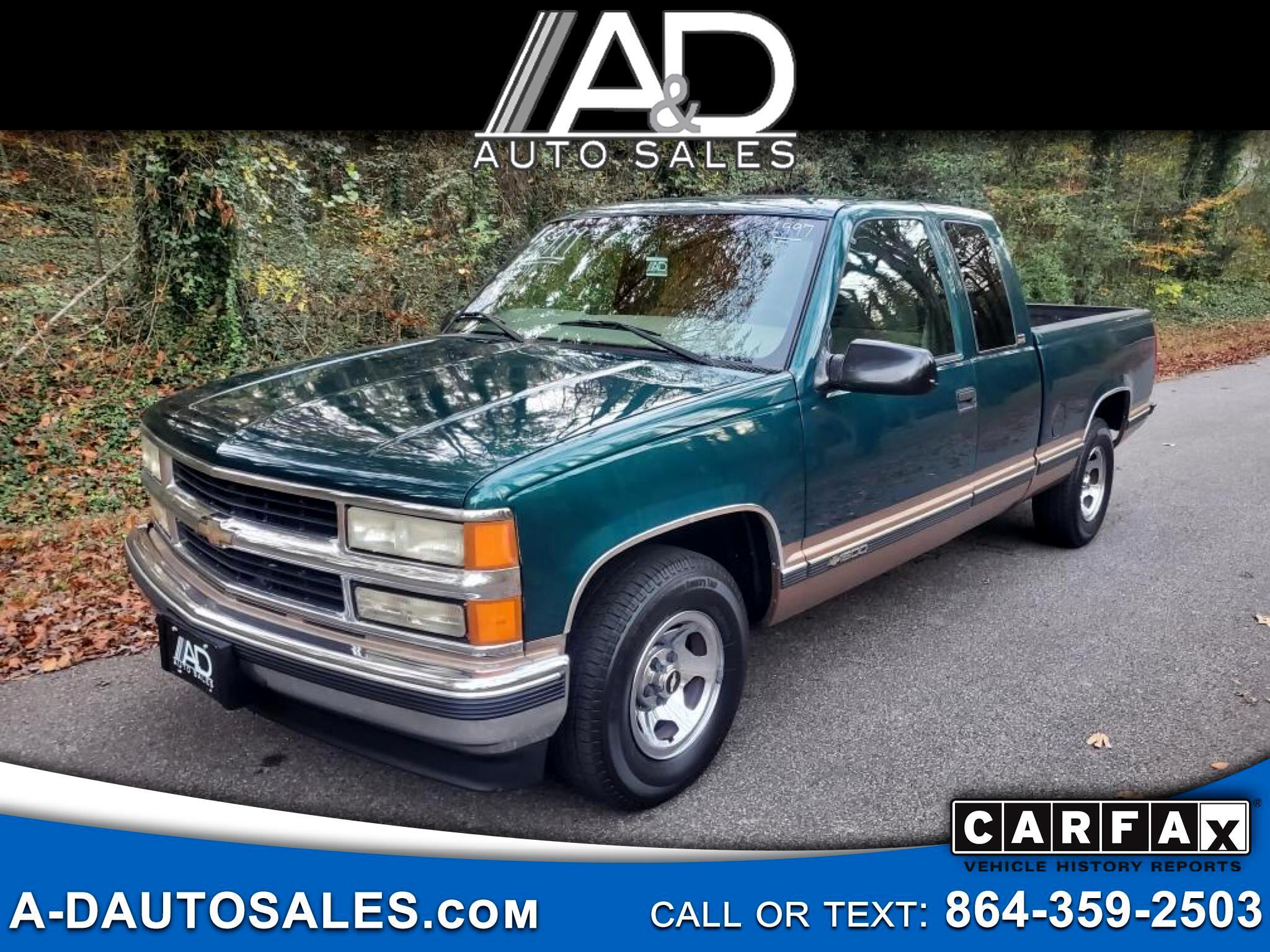 "Chevrolet C/K 1500 Ext Cab 141.5"" WB 1997"
