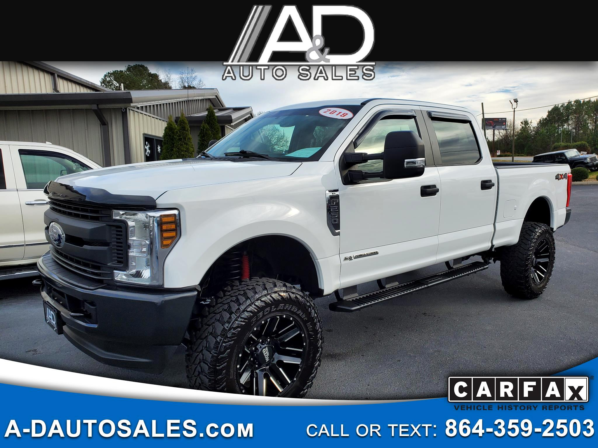Ford Super Duty F-250 SRW XL 4WD Crew Cab 6.75' Box 2019