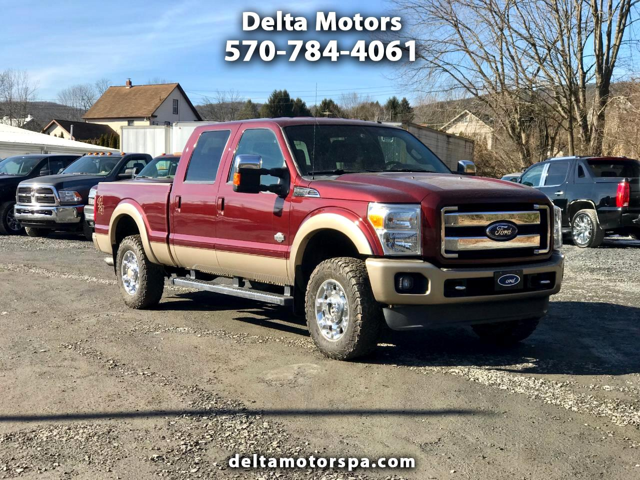 "2012 Ford Super Duty F-250 4WD Crew Cab 172"" King Ranch"