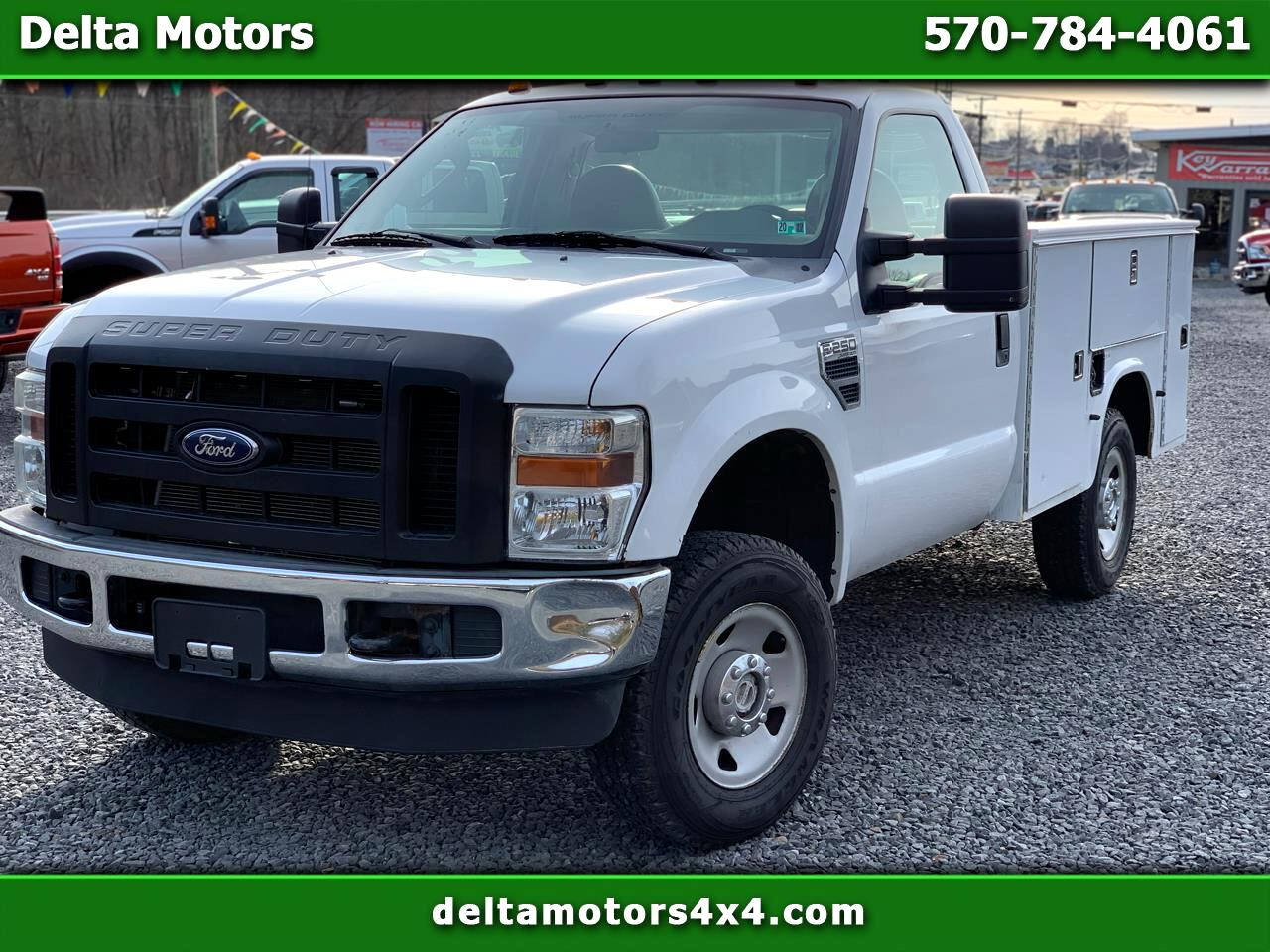"Ford F-250 SD 4WD Reg Cab 137"" XL 2008"